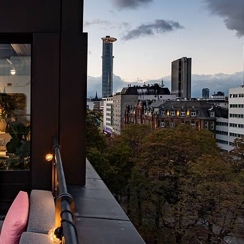 Rooftop Location, Sommerfest, Frankfurt am Main - FLOWCATION